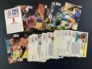 Pro Set - Footballers (1991-92) - 50 cards