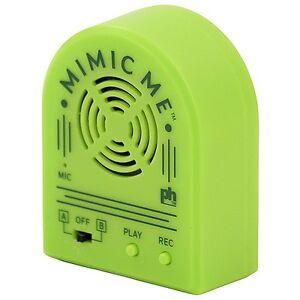 Dispositif d'entraînement Parrot pour enregistrement vocal Mimic Me 48081629000