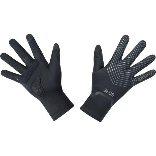Black Gore Wear C3 Gore-Tex Infinium Stretch Mid Gloves