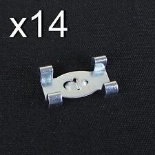 VW Type 3 T3 Wide Sill Trim Clip 14pcs ISP Notchback Fastback Squareback 61-66
