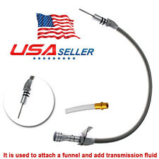 Flexible Stainless Transmission Dipstick For Chevy Gm Th350 Tranny 350 Turbo Hot