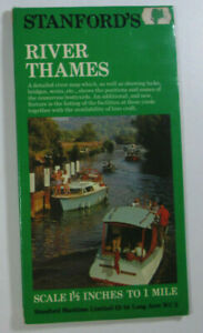 Old-1975-Stanford-039-s-River-Thames-Map-with-Locks-Bridges-Weirs-etc-1-5-034-to-1Mile