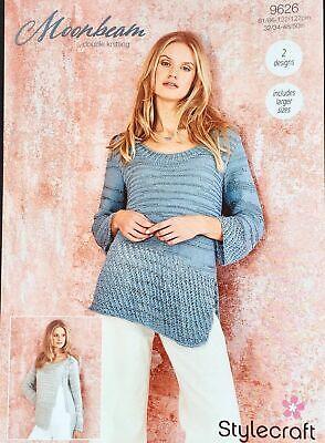 Stylecraft Crochet Pattern 9631 DK Cardigan Sweater
