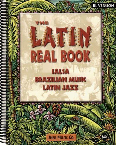 The Latin Real Book E-flat Edition Sheet Music Real Book Fake Book NEW 000240141