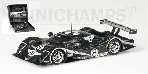 1 43 Bentley EXP Speed 8 Team Bentley GB Le Mans 24 Hrs 2002    Presentation Box