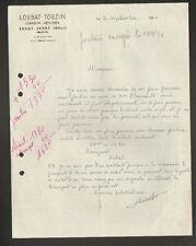 """TAXAT-SENAT (03) CHARRON MENUISIER """"LOUBAT & TOUZIN""""  en 1958"""