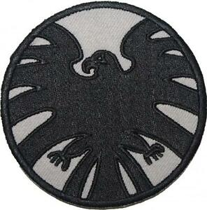 Marvel-Agents-of-SHIELD-Emblema-Bordado-Parche-Insignia-Coser-con-plancha-9cm