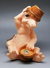 Panton Int The World of Krystonia Dragon Figurine Jumbly the Juggler OOPS #3907