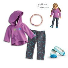 "American Girl MY AG STARRY HOODIE OUTFIT for 18"" Dolls Coat NEW Retired"