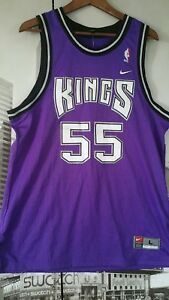 NIKE-1997-KINGS-WILLIAMS-55-PURPLE-Jersey-size-MEN-039-S-L-NEW-VINTAGE
