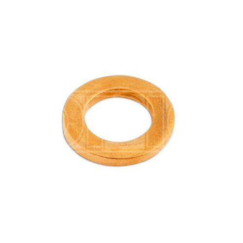 31826 Sealing - Pack of 100 Connect Copper Washers M6 x 10.0mm x 1.0mm