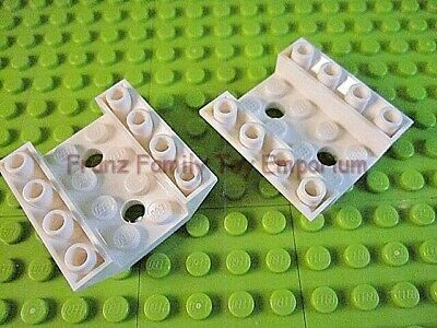 New LEGO Lot of 4 Tan 4x4 Curved Cockpit Slope Pieces