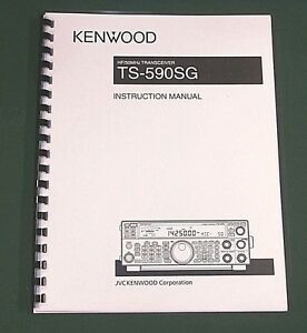 Kenwood TS-140S Instruction Manual Premium Card Stock Covers /& 32 LB Paper!