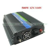 300w 500w 1000w 1kw Grid Tie Power Inverter Dc 12v / 24v To Ac 110v For Home