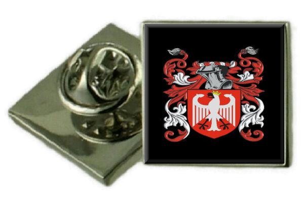 2019 Mode Walland England Familie Wappen Revers Pin Abzeichen Graviert Geschenk Hülle Auf Dem Internationalen Markt Hohes Ansehen GenießEn