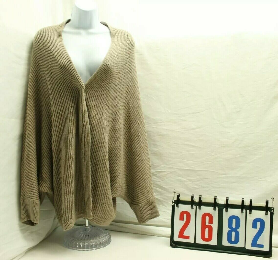 Old Navy Womens Size XL Extra Large Beige Tan Knit Wrap Sweater