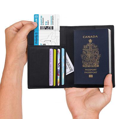 Passport Holder Cover RFID Blocking Case Travelling Passport Cards Carrier Wallet Case Regional Dragon