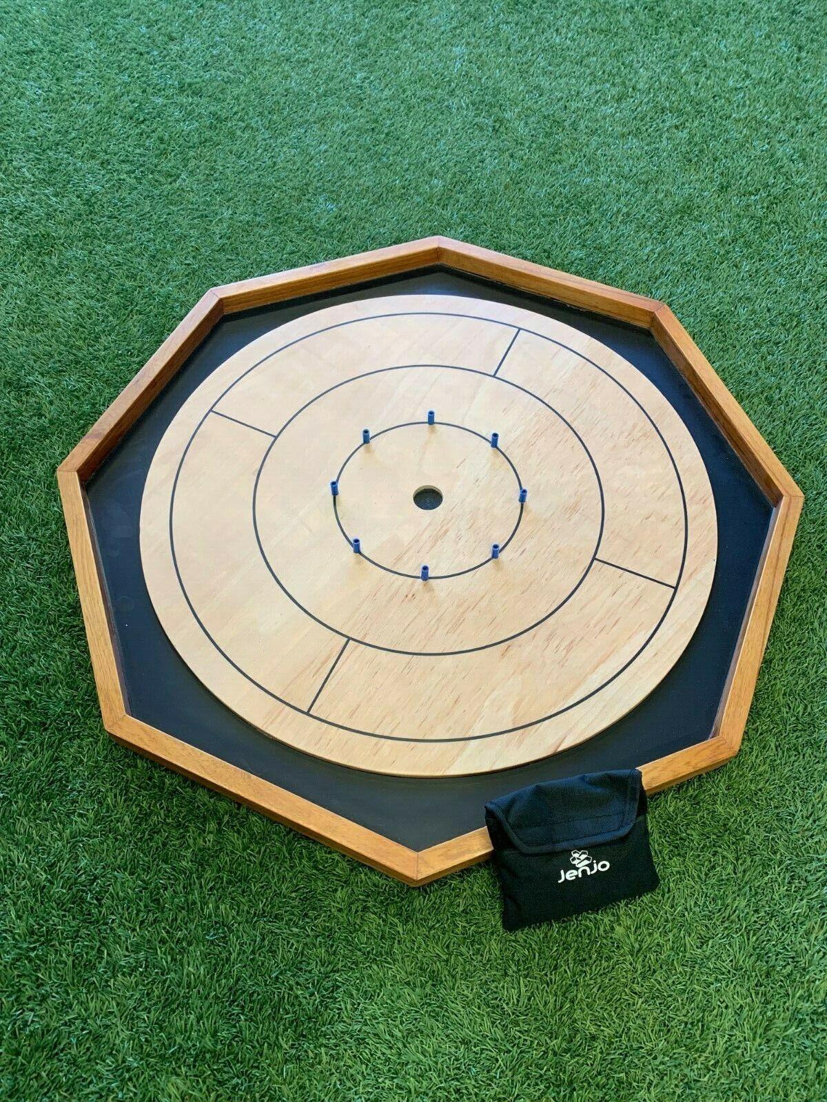 Crokinole Octagon Wooden Board Game | eBay