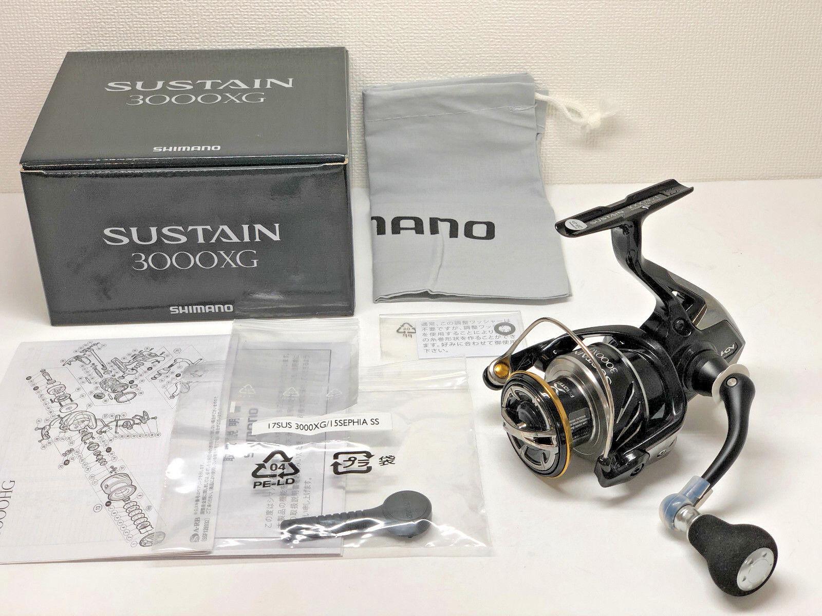 Shimano 17 sustain 3000xg spedizione dal Giappone