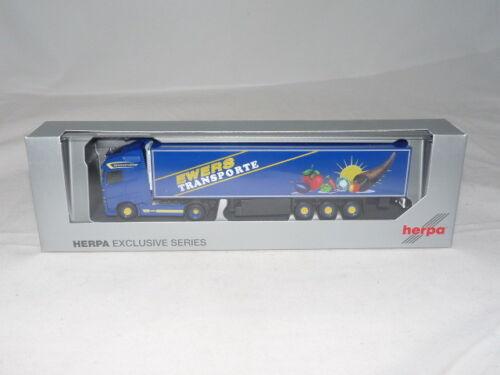 Herpa 932028 Volvo FH GL maleta de refrigeración-remolcarse-Ewers 1:87 nuevo embalaje original