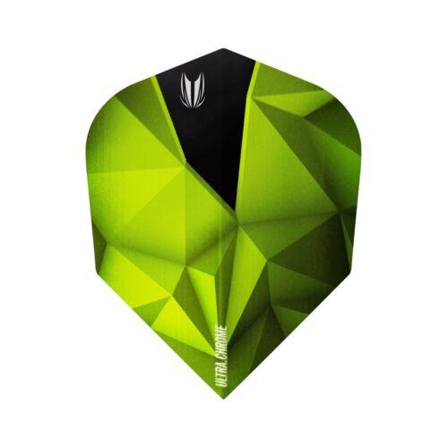 Std No.6 Emerald Green Target Shard Ultra Chrome 100 Micron Dart Flights