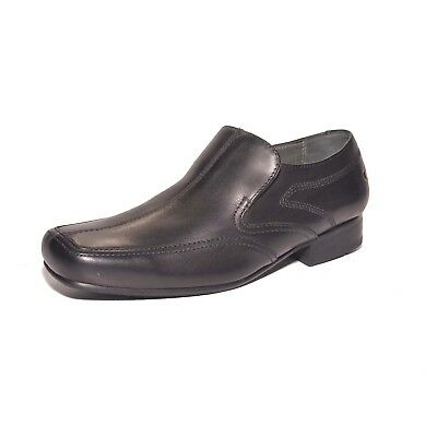 "Start-Rite Rhino /""Cooper/"" boy/'s slip-on leather school shoes F fitting"