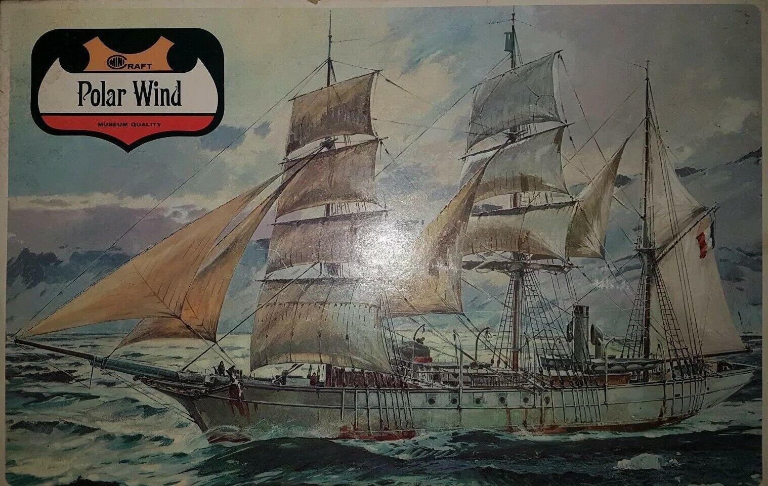 Image 01 - Minicraft-Polar-Wind-Pourquoi-pas-144-800-ex-Heller-Sail-Steam-Antarctic-Ship