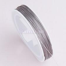 Spool 90M 0.45mm Silver Tiger Tail Beading Wire Jewelry Craft Making Supply