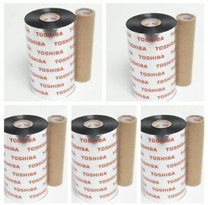 Toshiba-Smearless-Wax-Ribbon-Black-5-Rolls-BX730160AG2
