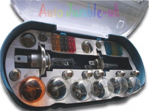 JAGUAR X-TYPE//ESTATE X H1+H7 emergency replacement bulb Fuse set spare KIT 12v