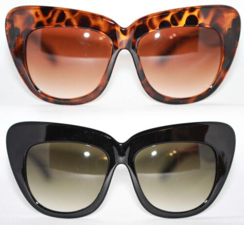 Cat Eye Sonnenbrille XXXL 50er  60er Jahre schwarz tortoise Rockabilly 152