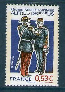 TIMBRE-3938-NEUF-XX-LUXE-REHABILITATION-DU-CAPITAINE-ALFRED-DREYFUS