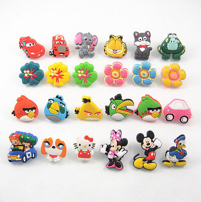 1xCute Children Bedroom Cabinet Drawer Dresser Knobs Kids Furniture pull handle
