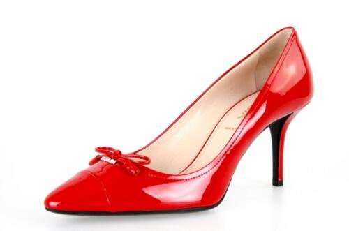 Escarpin 6 Nouveaux 1i294f Luxueux 40 Uk Rouge Prada 5 5 39 AcqrHAaW