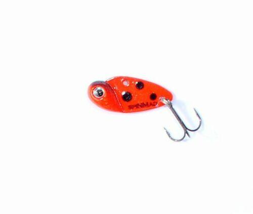 Blatt-Pilker Künstliche Motte 2,5 Gramm-6 Farben Cicade Barsch Spinner Jig