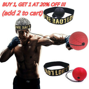 Fight-Ball-Reflex-Boxing-REACT-Training-Boxer-Speed-Punch-Head-Cap-String-Ball