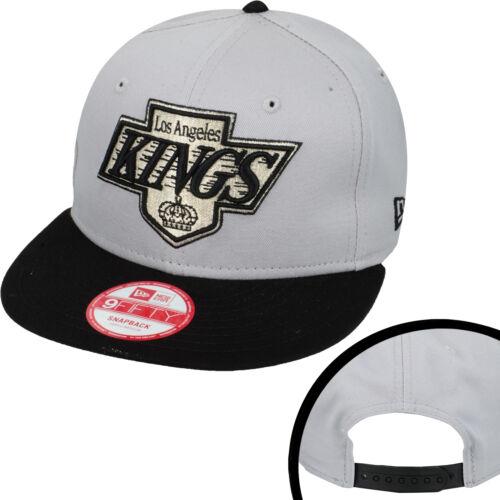 Los Angeles Kings CAP NHL Hockey su Ghiaccio Cap Berretto New Era 9 FIFTY Snapback M//L