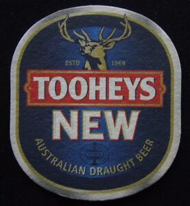 Tooheys-New-Australian-Draught-Beer-Coaster-B300