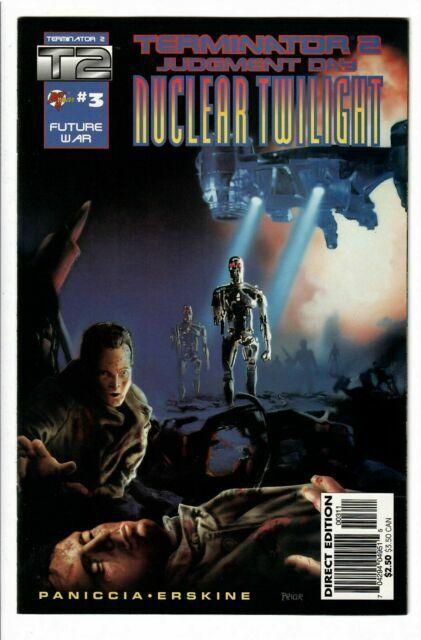 Nuclear Twilight Comic Book #1 Malibu 1995 NEAR MINT NEW UNREAD Terminator 2