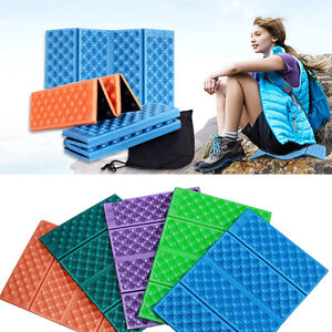 Details about Ultralight Foam Camping Mat Folding Beach Tent Sleeping Pad  Mattress 40*28*1cm