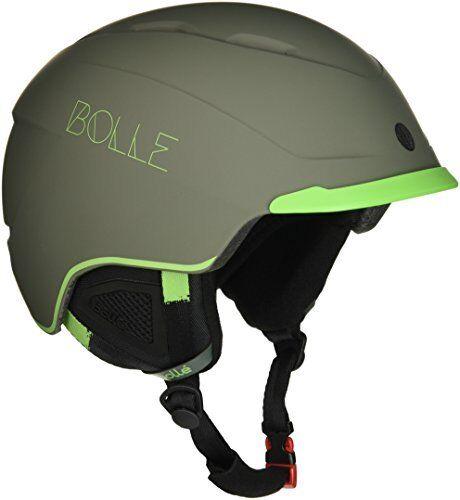 Bollé Beat, Casco da Sci Unisex Adulto, Soft Khaki verde, 58-61 cm (Y1p)