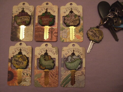Names H to K Personalised Key Cover Fob
