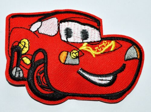HOT SALE Lovely Red Car Racing Sports Motor Top punk Iron On patch