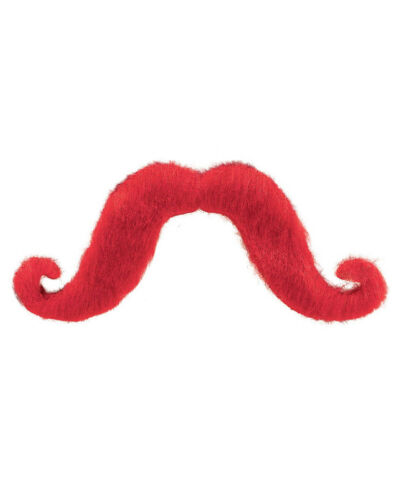 Red Moustache One Size