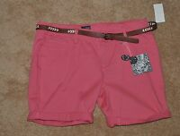 Woman's Bebop Shorts Size 15 Great Style, Color, Comfort, Longer Inseam