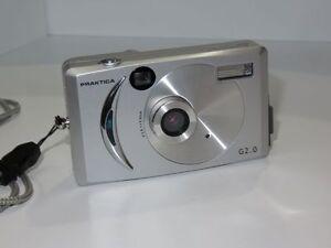 Praktica-G2-0-Kamera-Digital-Silberne