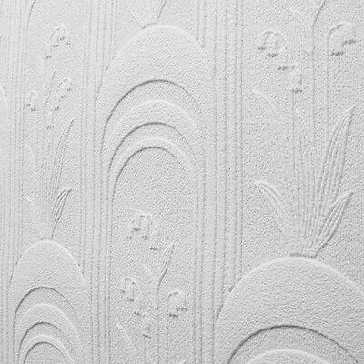 Fine Decor Pure Whites Paintable Texture Designer Feature Wallpaper - 21536