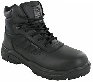 Mens-Groundwork-GR40-Combat-Boots-Safety-Lace-Up-Steel-Toe-Work-Ankle-Industrial