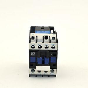 Details about CJX2-1210 AC Contactor 220V Coil Voltage Circuit Control 3  Poles NO