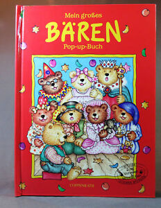 Details about Mein großes BAREN by Coppenrath Pop UP Book 1997 printed  Munster Childrens Book